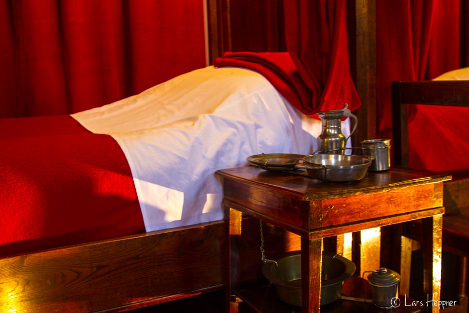 Sterbebett im Betten im Hôtel-Dieu