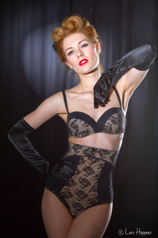 Burlesque Foto-Workshop: Shooting mit Amethysta