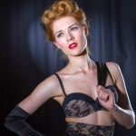 Burlesque Shooting mit Amethysta