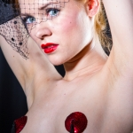 Burlesque Shooting mit Amethysta
