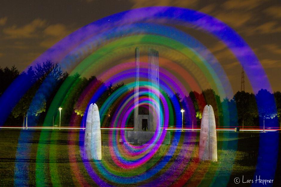 Lichtspirale mit LEDs