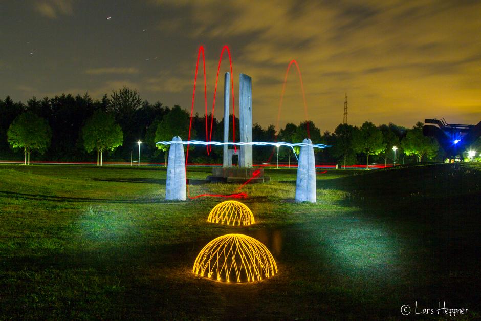 Lichtschranken beim Light-Painting