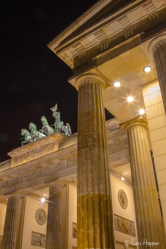 Brandenburgertor bei Nacht