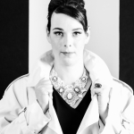 Audrey Hepburn Portrait Fashion No II