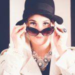 Audrey Hepburn Portrait Fashion No III