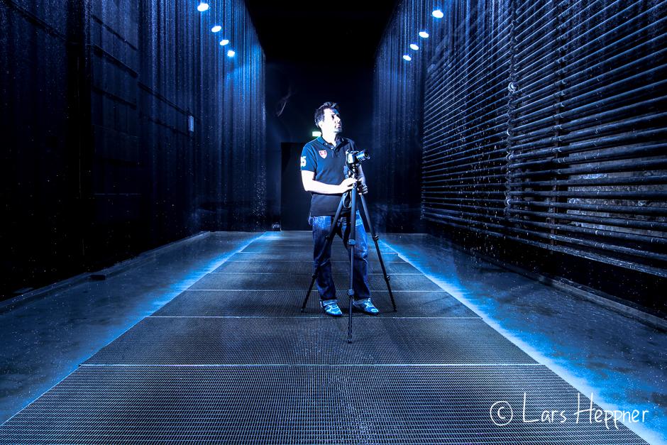 """Lichtkunstzentrum: Olafur Eliasson """"Der reflektierende Korridor"""""""