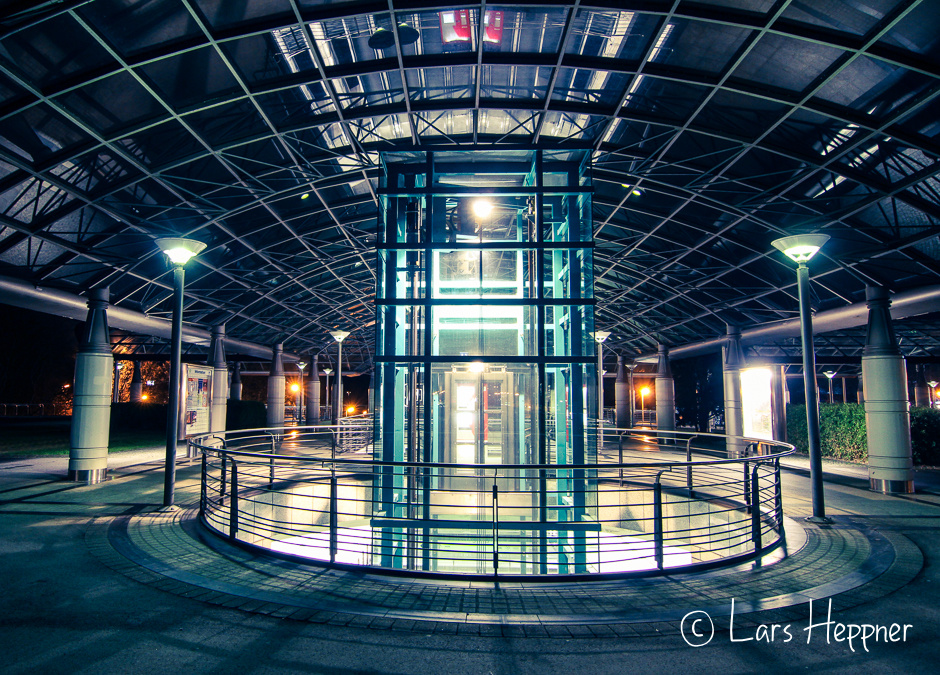 U-Bahn Station an der Dortmunder Westfalenhalle