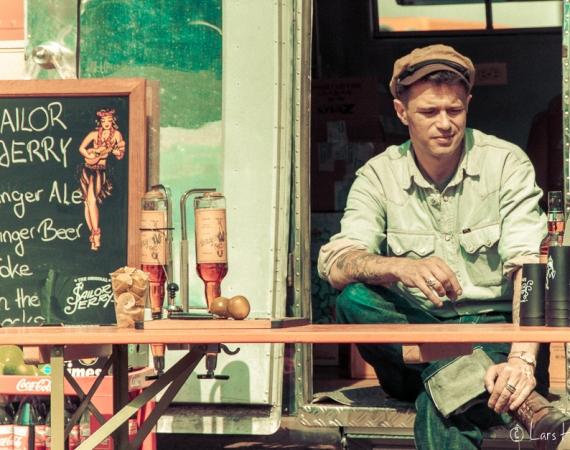 James Dean Style auf der Kustom Kultur