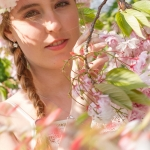 Kirschblüten-Shooting mit Sara
