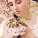 Kirschbaumblüten mit Sara