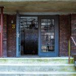 Eingang Kompressorhalle Kokerei Hansa in Dortmund