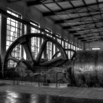 Kokerei Hansa - Kompressorenhalle (HDR) sw