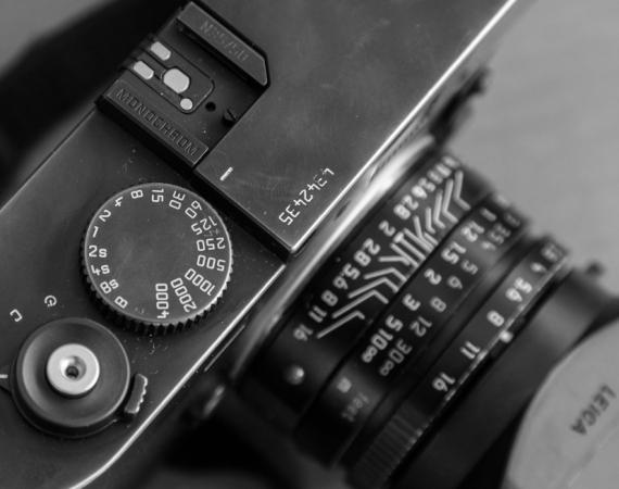 Detailausschnitt der Leica Monochrom