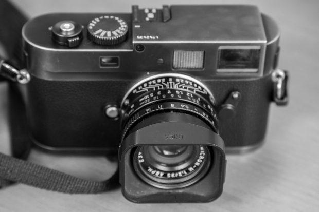 Leica Monochrom - Frontansicht