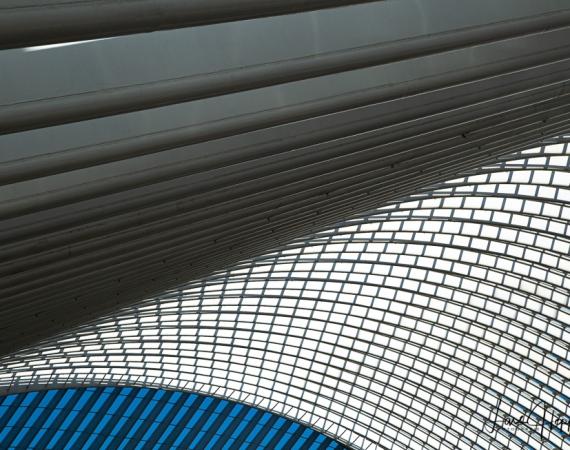 Architektur-Fotografie in Liege Guillemins