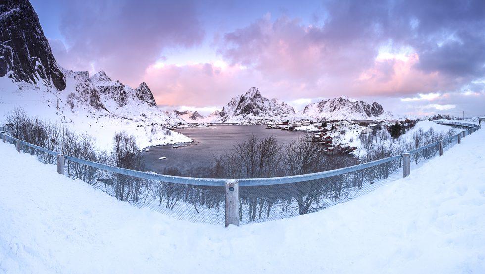 Lofoten Berg Panorama