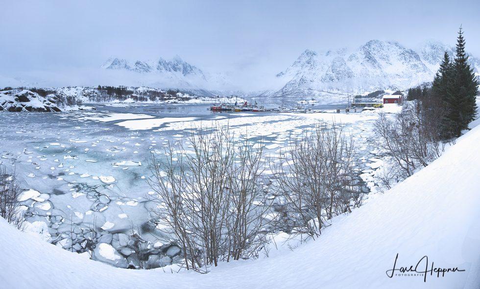 Lofoten Winter Panorama