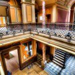 Lost Place Villa Amalia (Villa Woodstock) - Eingangshalle von der 1. Etage