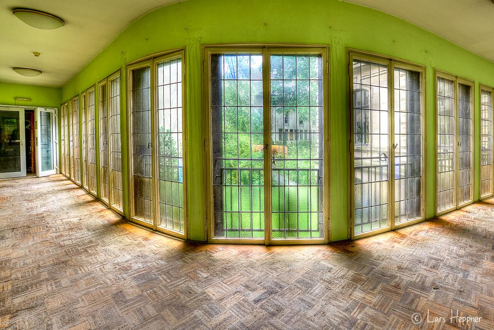 Lost Place Villa Amalia (Villa Woodstock) - Flur