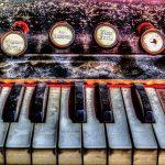 Lost Place Villa Amalia (Villa Woodstock) - Klavier 1