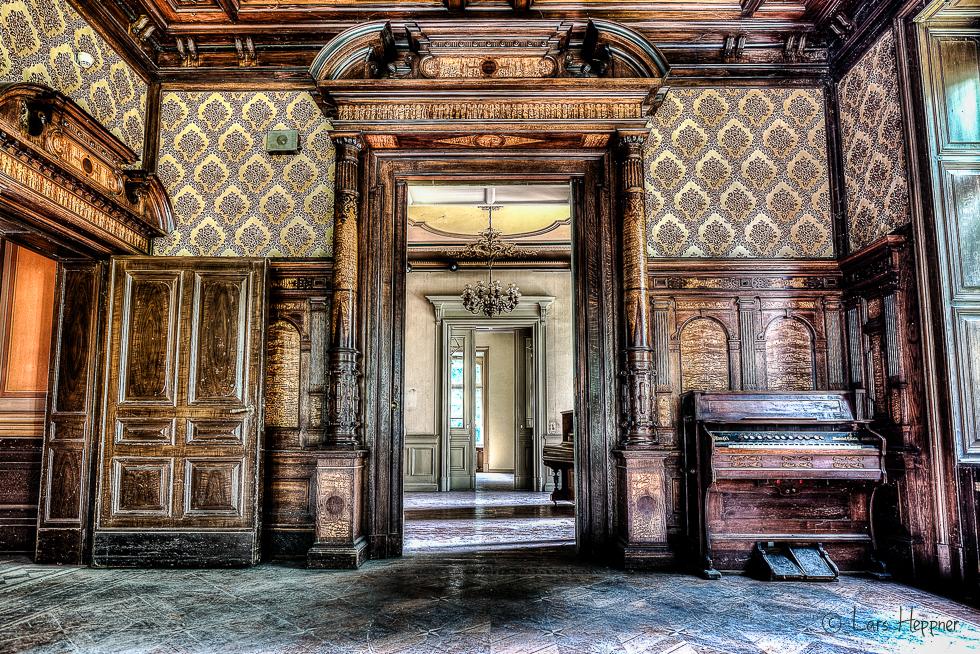 Lost Place Villa Amalia (Villa Woodstock) - Raum