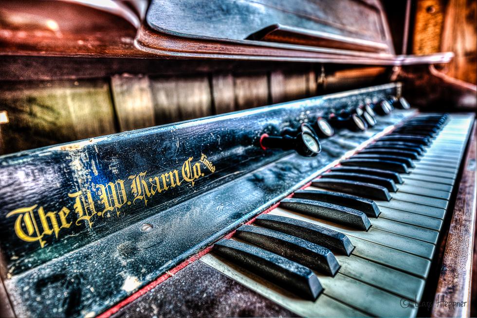 Villa Amalia (Villa Woodstock) - Klavier