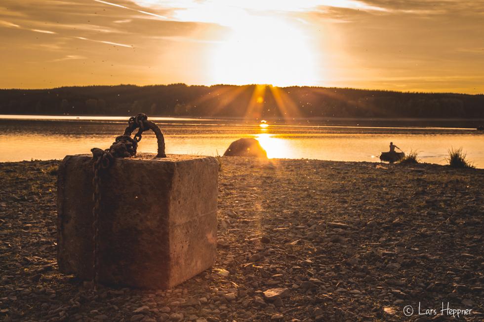 Sonnenuntergang am Möhnesee