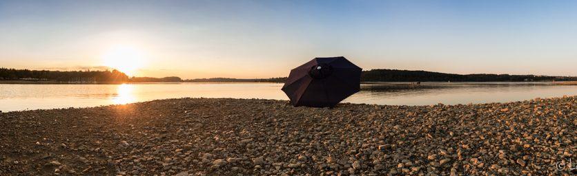 Sommerliches Panorama - Der Möhnesee