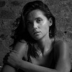 Black and white Portrait Madmoiselle Soph
