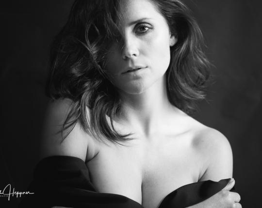 Schwarz-Weiß Portraitserie mit <br/>Mademoiselle Soph