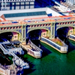 Ferry Island Harbour (tiltshift)