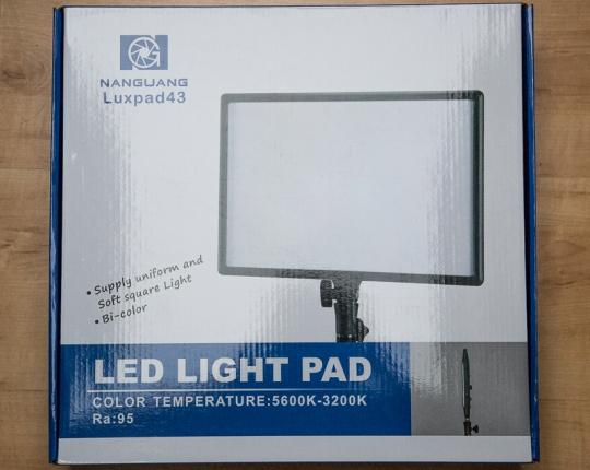 Dauerlicht in der Fotografie –<br/>Das Nanguang Luxpad 43 im Praxistest