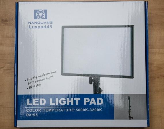 Das Dauerlicht Nanguang Luxpad im Test