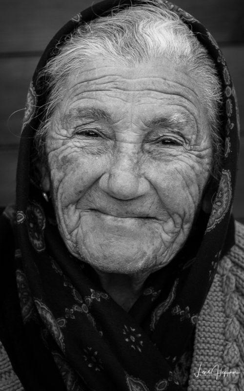 Nazaré People - Portrait einer alten Frau