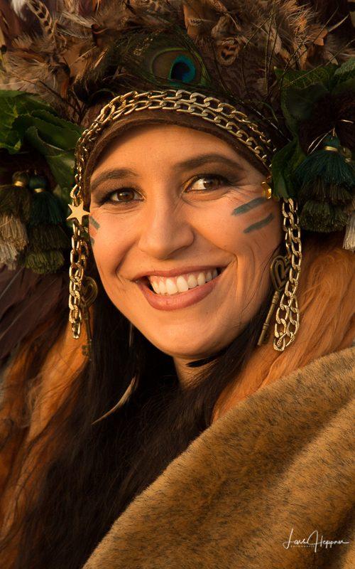 Karnevalskostüm in Nazaré