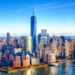 New York Skyline aus der Luft (DRI)