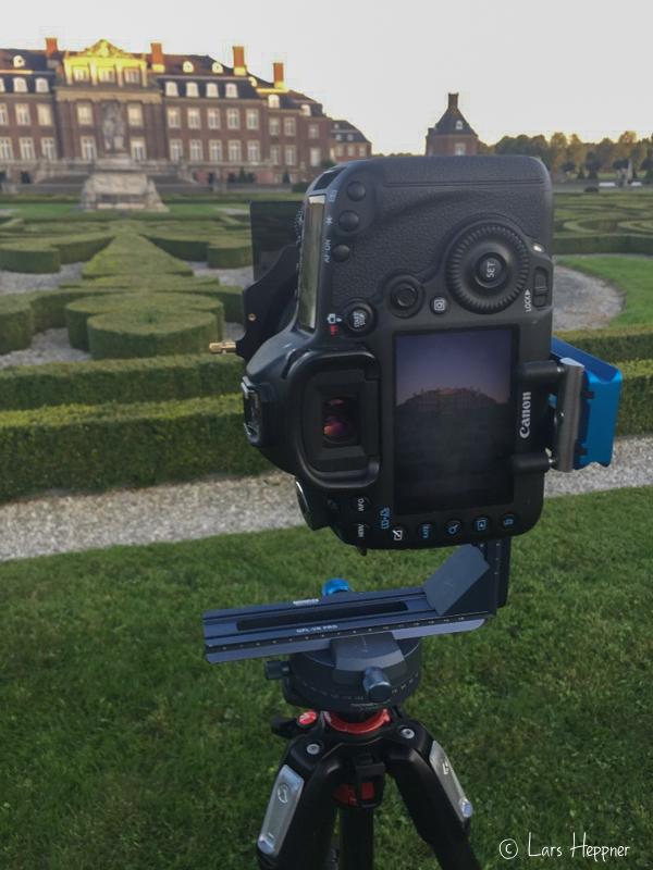 Einsatz von Lee Filter am Novoflex VR System Pro II - Erfahrungsbericht