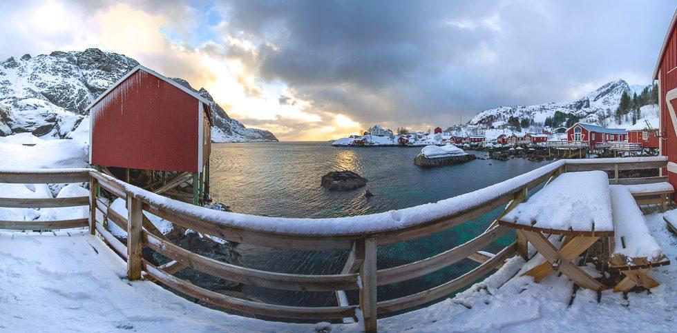 Nusfjord2 Panorama