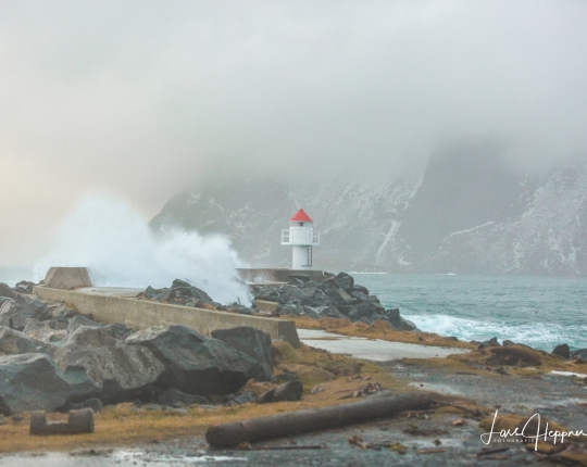 Wetter fotografieren – Orkan und eine unheimliche Stille im Fjord
