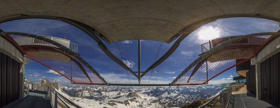 Panorama-Fotografie am Nebelhorn
