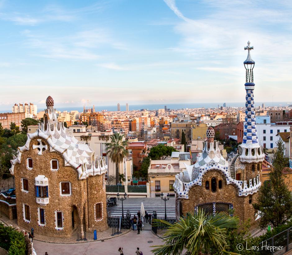Der Park Güell - Eine Sehenswürdigkeit in Barcelona