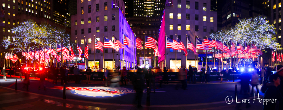 Ausgang Rockefeller Center