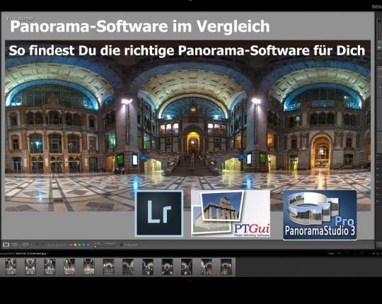 Panorama Software im Vergleich – So findest Du die richtig Software für Dich