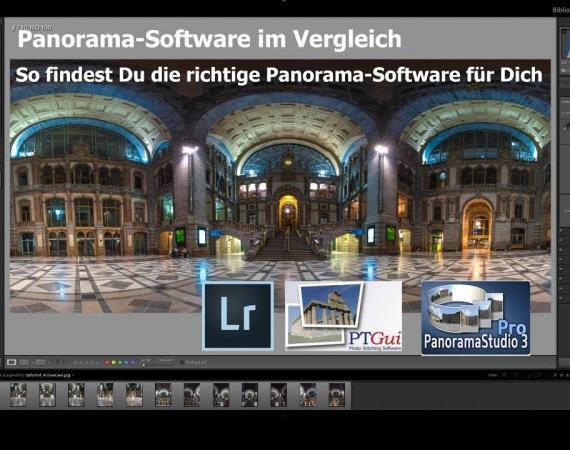 Panoramasoftware Vergleich