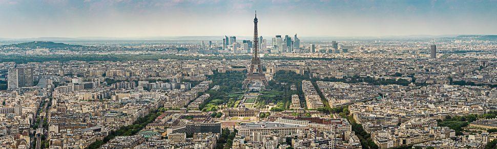 Panoramafoto von Paris