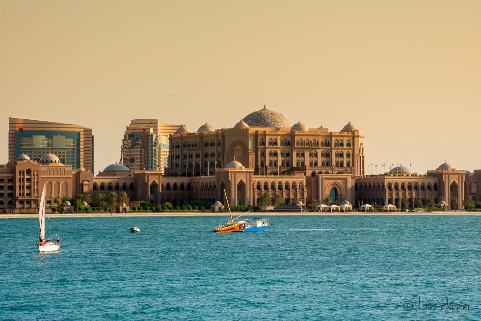 Unterwegs mit Pavel Kaplun in Abu Dhabi: Der Königspalast