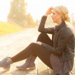 Gegenlicht Portrait: Model Jenni Corson