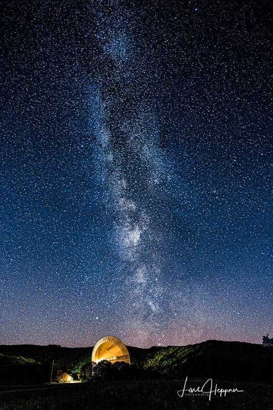 Radioteleskop Milchstrasse2