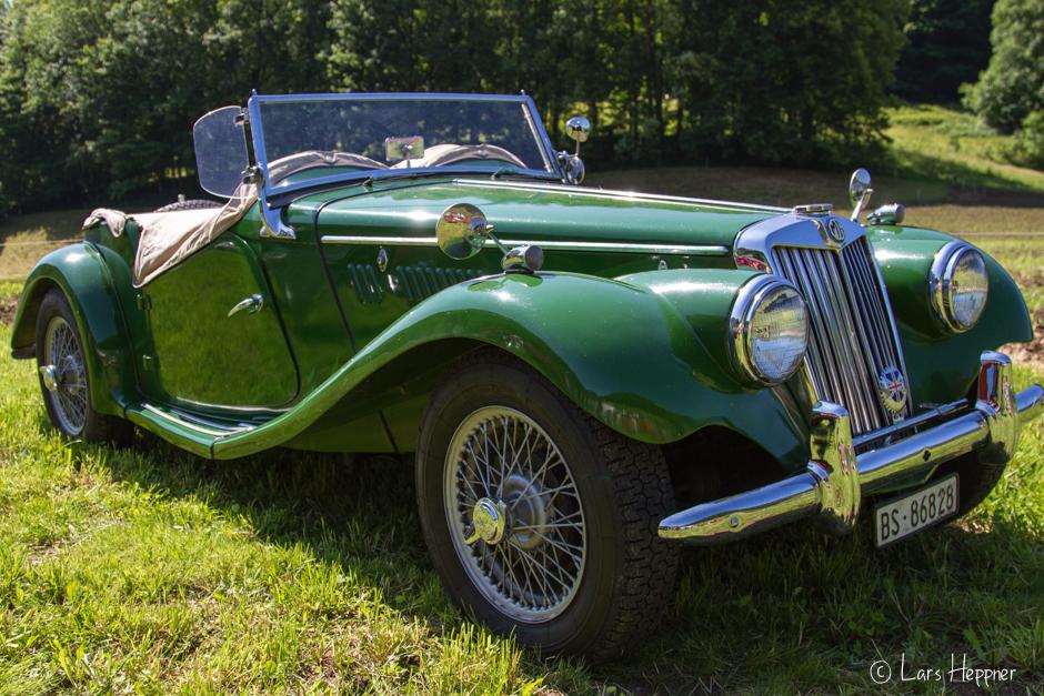 Oldtimer: MG Cabrio
