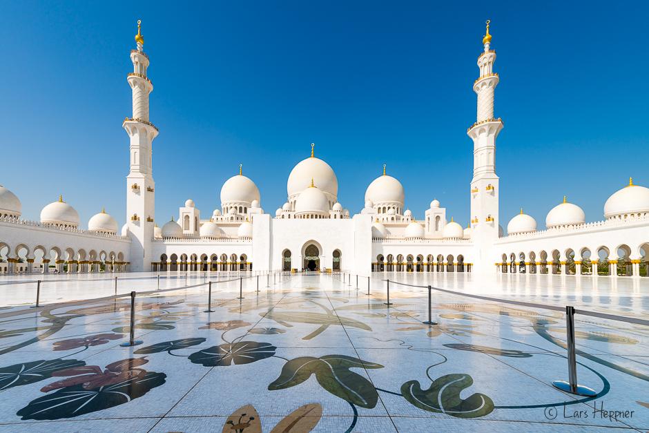 Besuch In Der Sheikh Zayid Moschee Ein Foto Reisebericht